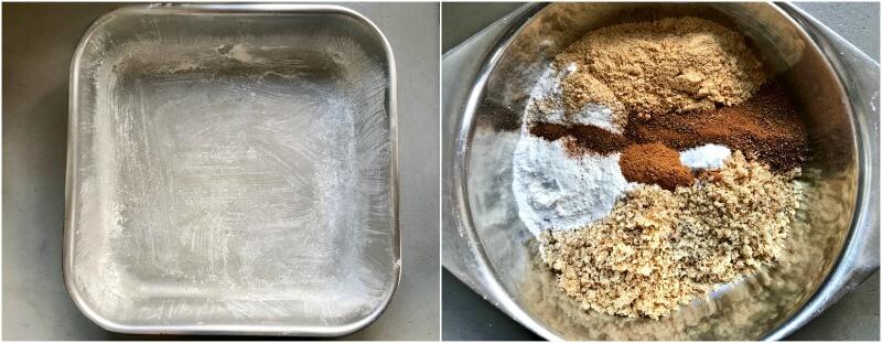 Μελαχρινή γλυκό - τα υλικά
