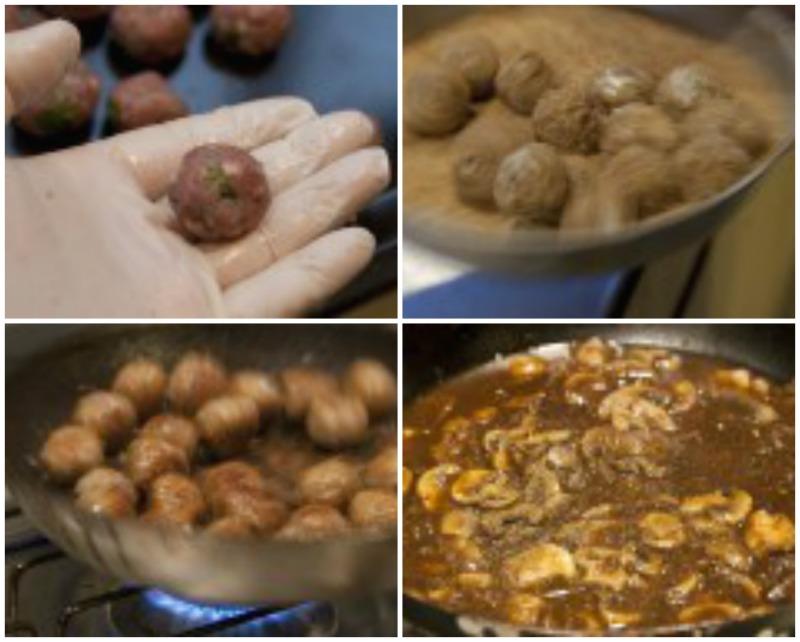 mini-meatballs-in-mushroom-sauce