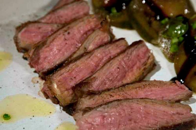 ψήσιμο κρέατος - rare