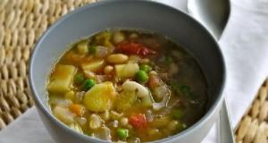 μινεστρόνε σούπα