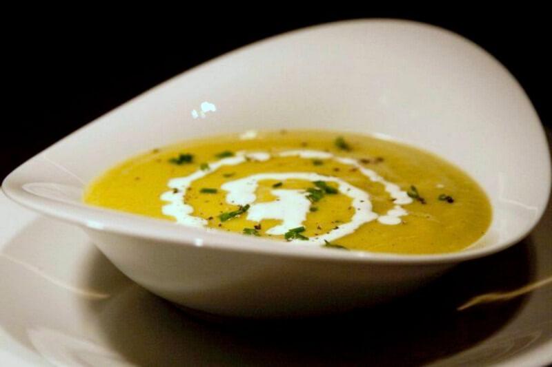 βισισουάζ - Vishyssoise κρύα σούπα