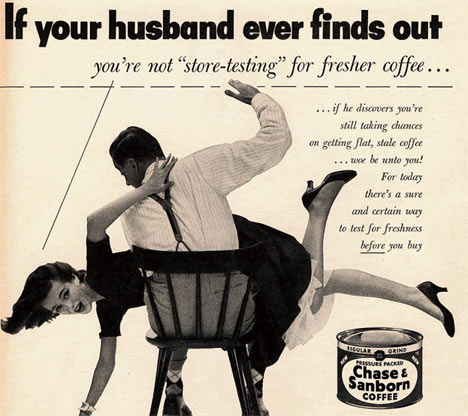 Horrible Violent sexist Ad