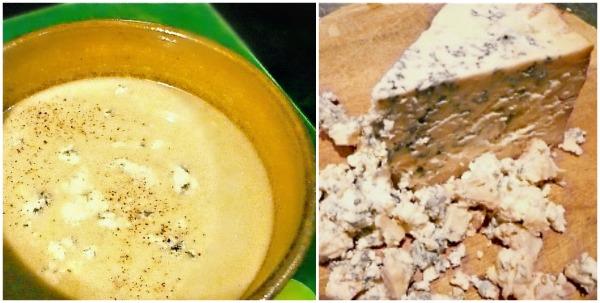 σούπα με πράσα και στίλτον - αγγλική πρασόσουπα