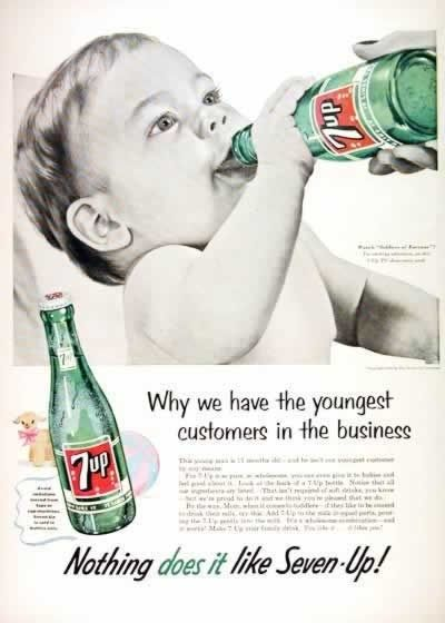 Vintage ads: Nothing does it like seven up