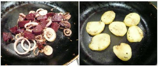 salata me pantzaria kai patates