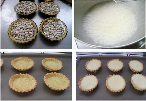 τάρτα λεμονιού - blind bake και κρέμα λεμονιού