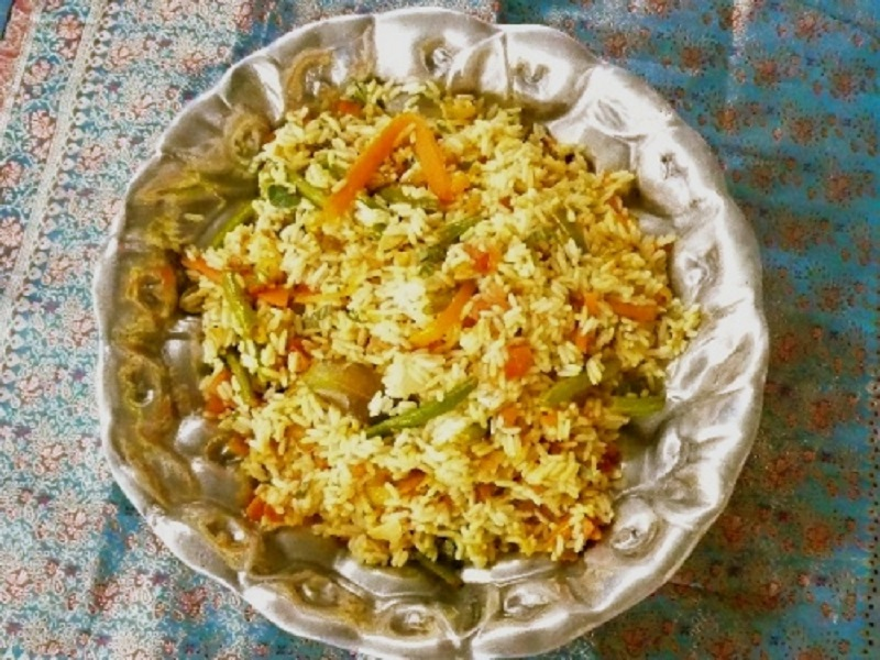 Vegetarian Biryani: India's celebration rice