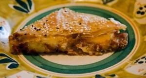 πίτα με μελιτζάνες