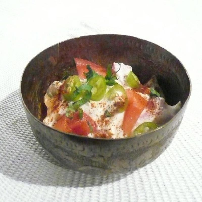 Coolraita - the Indian yoghurt dip