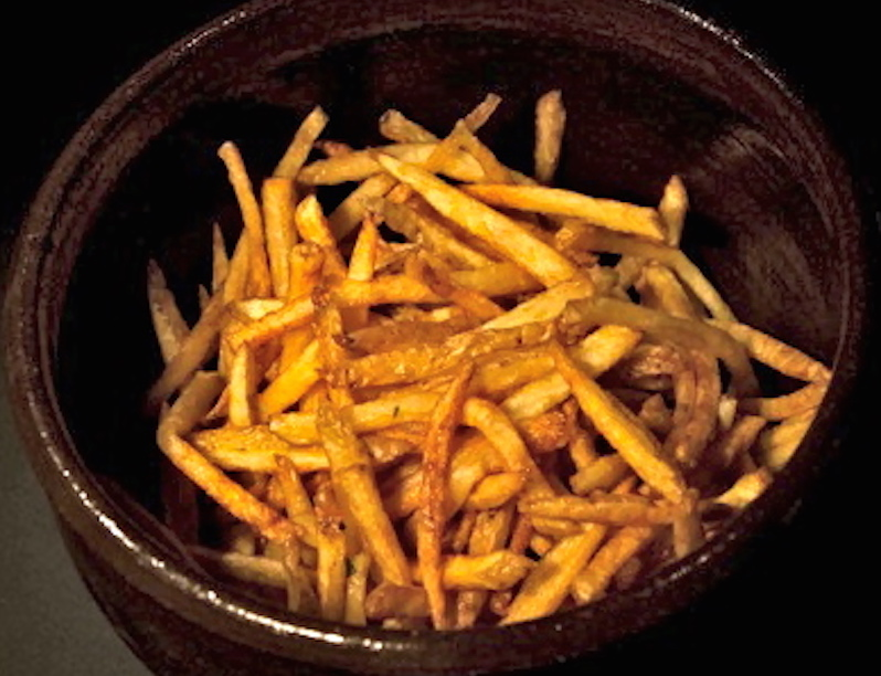 perfect unpeeled fried potatoes