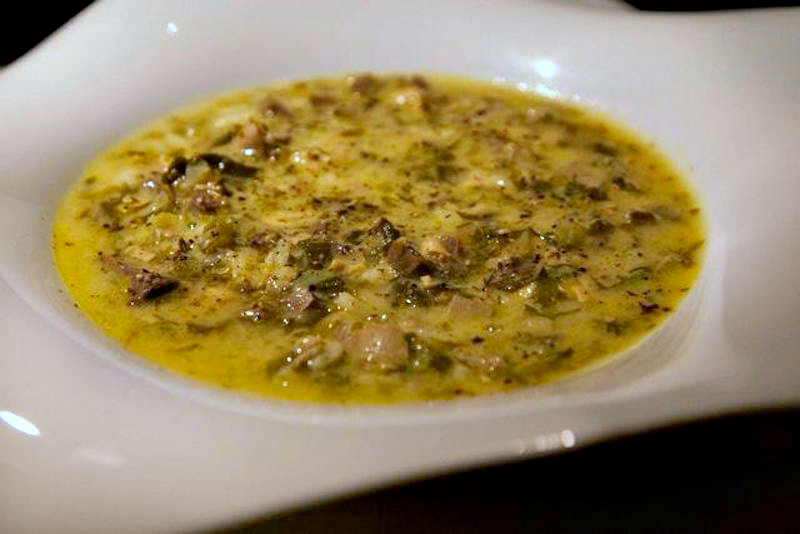 magiritsa with estragon - the gourmet version of the fabulous Greek Easter soup with liver