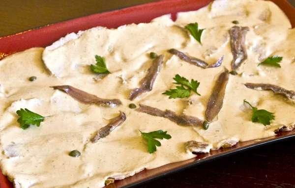 Μοσχάρι με σάλτσα τόνου - Vitello tonnato