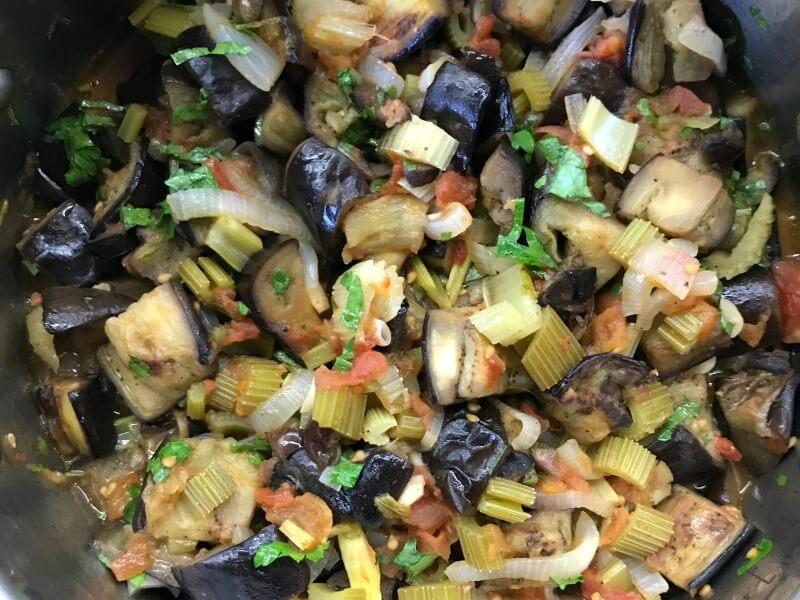 Καπονάτα Σικελίας σαλάτα ή σάλτσα