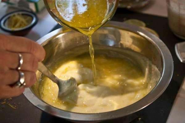 τσιζκέικ λεμόνι με μπισκότα τζίντζερ - κρέμα λεμόνι