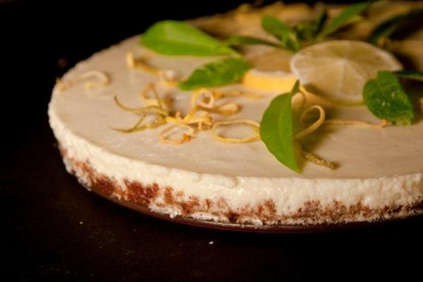 Lemon Cheesecake: gourmet recipes