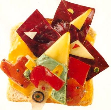 Φαγητό, δίαιτα και σεξ - Τhe Museum of Modern Frab, 1988, Kandinsky