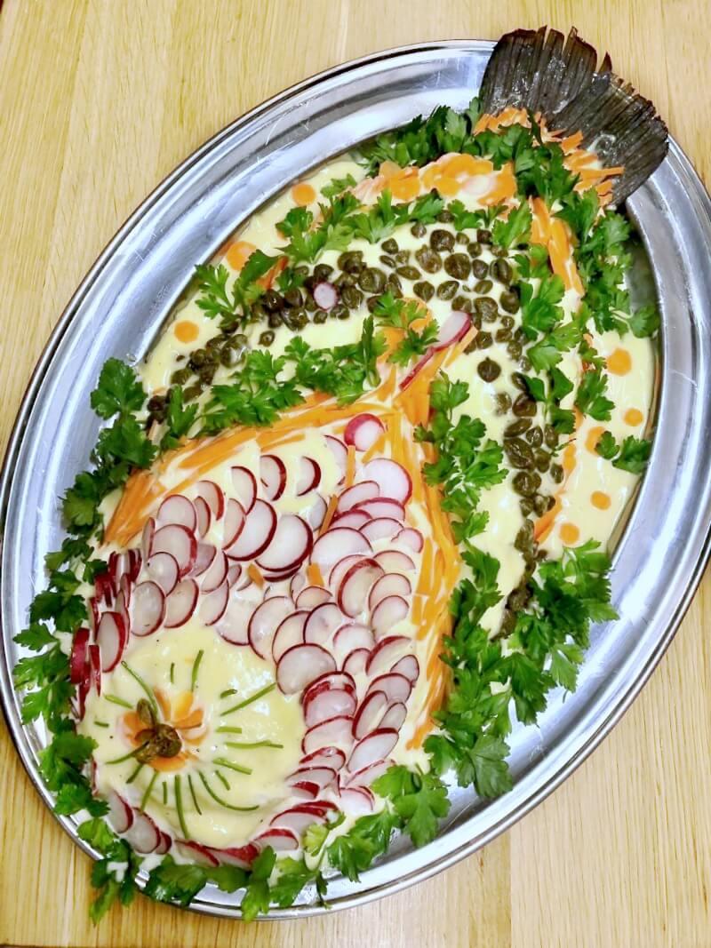 """κρύο ψάρι Αθηναϊκή μαγιονέζα: η συνταγή """"πιο"""""""
