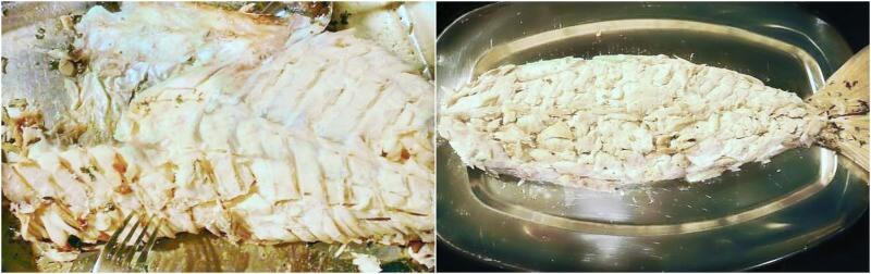 καθάρισμα και σύνθεση για κρύο ψάρι με μαγιονέζα