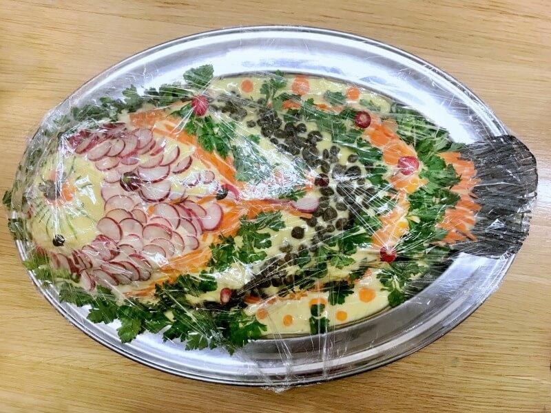 ψάρι Αθηναϊκή μαγιονέζα