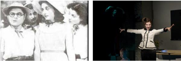«Δεσποινίς Μαργαρίτα» από την Έλλη Λαμπέτη (αριστ.) και την Όλια Λαζαρίδου (δεξιά)