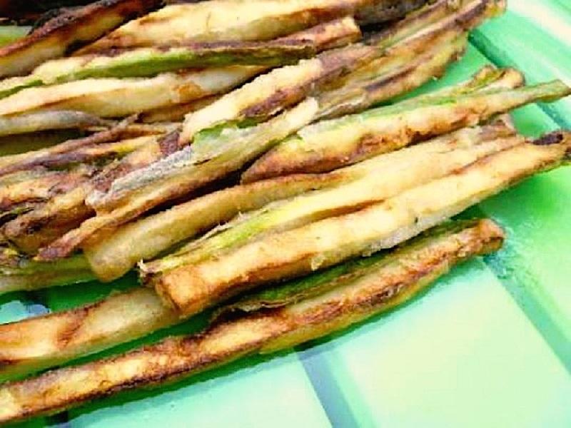 τηγανητά λαχανικά: 7 μυστικά - κολοκυθάκια συνταγές