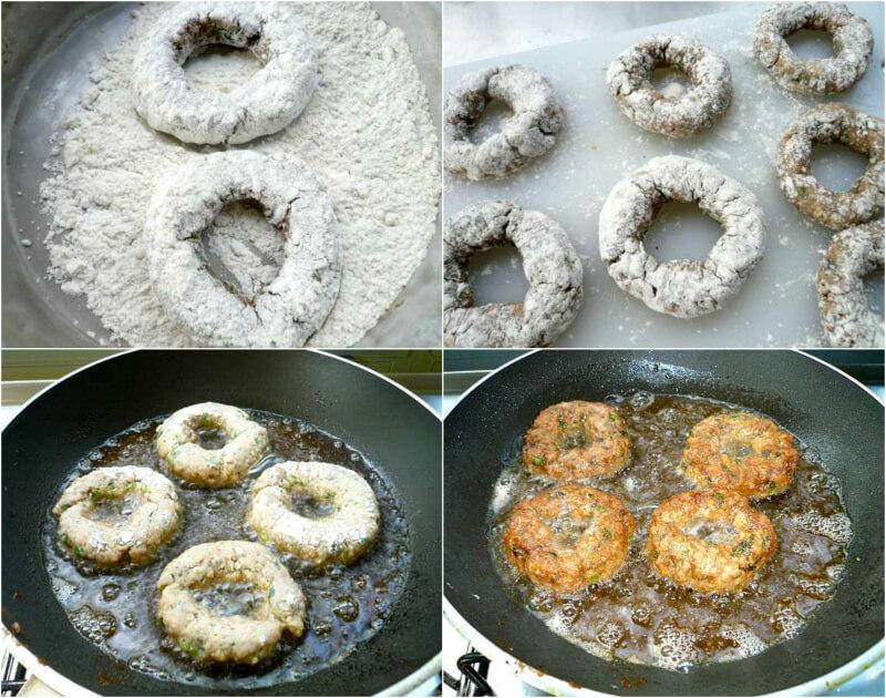 Δακτυλίδια από κιμά: τηγάνισμα
