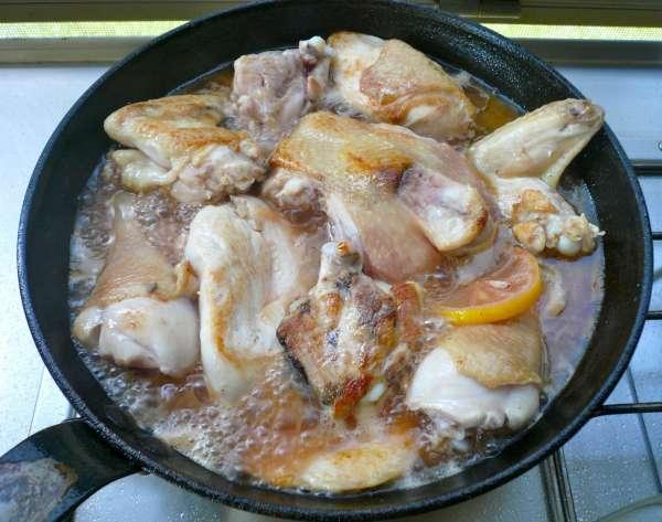 συνταγή κοτόπουλο με σύκα