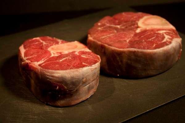 κρέας για συνταγή οσομπούκο αλά Cipriani