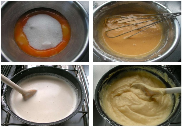 Κρέμα ζαχαροπλαστικής - κρεμ πατισιέρ