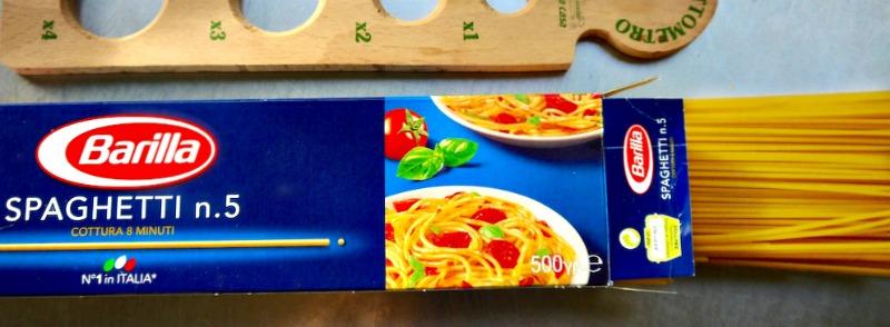 carbonara - Barilla Spaghetti no5