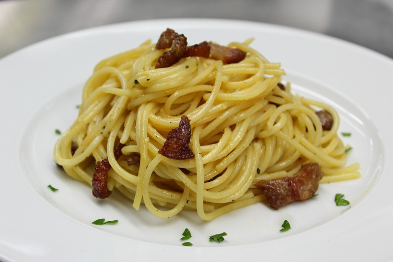 authentic carbonara