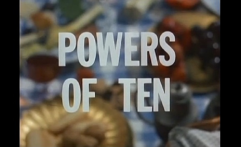 δυνάμεις του δέκα