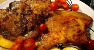 ράσσες μενιέρ - τηγανητές με βούτυρο και λεμόνι