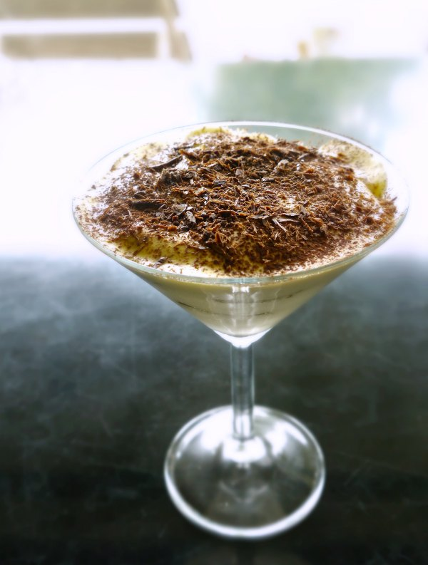 tiramisu in a glass