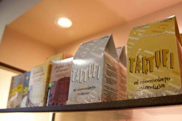 proionta Fair Trade: tartufi me gianduja