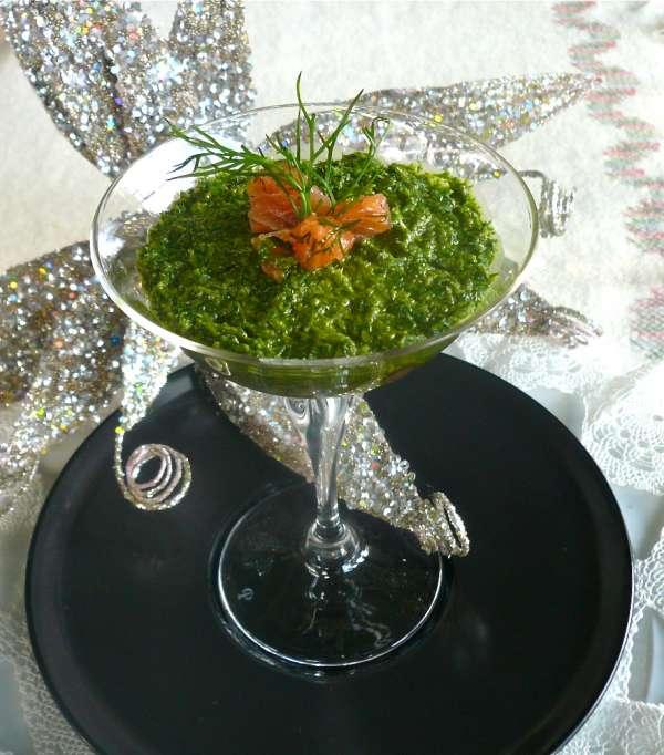 βερίν: ταρτάρ καπνιστού σολομού με μους άνιθου - συνταγή γκουρμέ