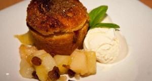 σαρλότ με μήλο αχλάδι κυδώνι