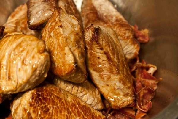 μπεφ μπουργκινιόν - beef bourguignon