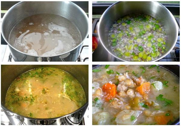 σούπα με σιτάρι και λαχανικά - χειμωνιάτικες σούπες