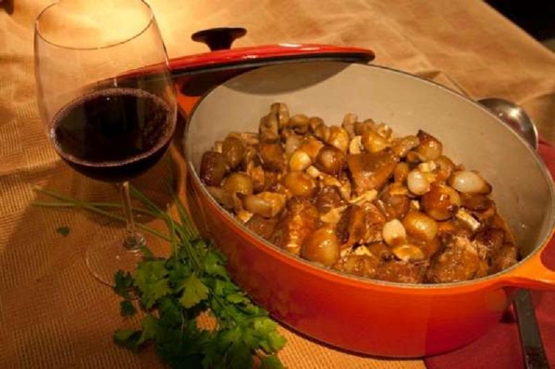μπεφ μπουργκινιόν - κύρια πιάτα για γιορτές