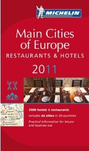 Michelin guide - Main Cities Europe 2011