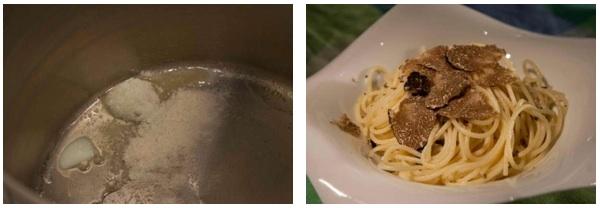 σπαγγέτι με τρούφα (συνταγή) - μακαρόνια με τρούφα