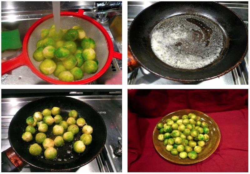 Γρήγορα, εύκολα, νόστιμα λαχανάκια Βρυξελλών σοτέ με βούτυρο