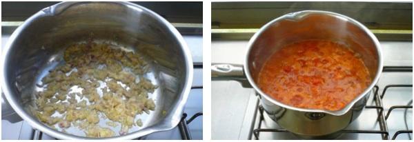 μελιτζάνες παρμεζάνα - η σάλτσα