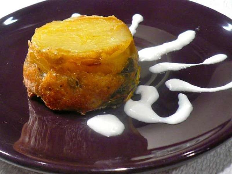 αρωματικά ταρτάκια με ψωμί και λαχανικά