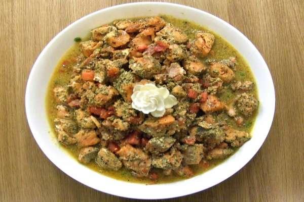 σολομός στον ατμό με σπόρους μουστάρδας - συνταγές για κούλουμα