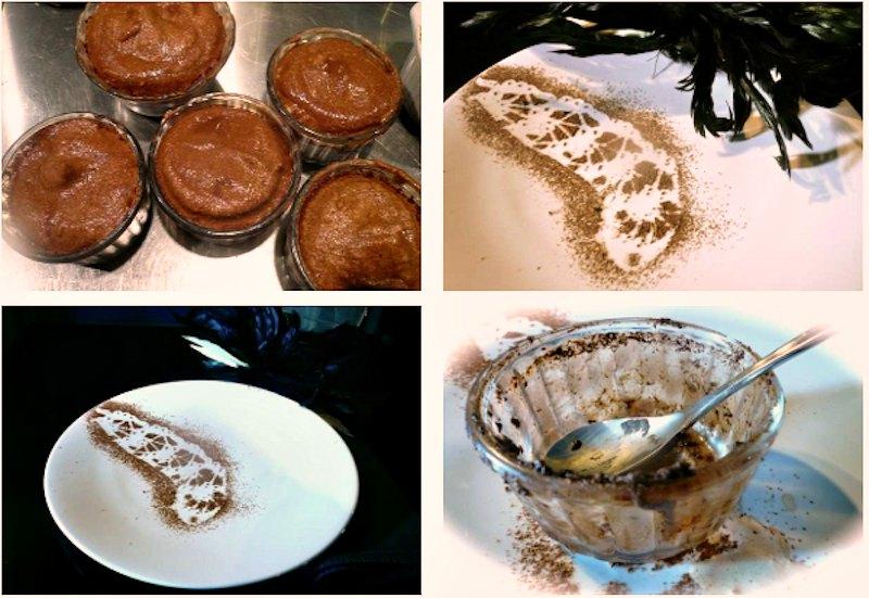 σουφλέ σοκολάτας με 4 υλικά