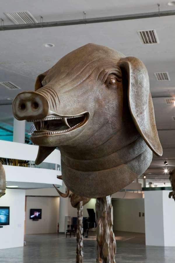ai weiwei: circle of animals / zodiac heads world tour