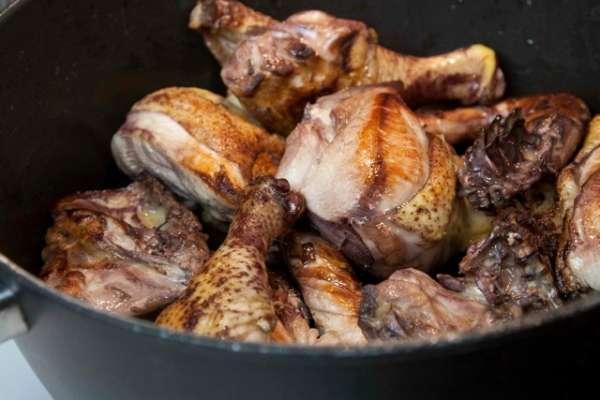 κόκορας κρασάτος Βουργουνδίας - κοκοβέν