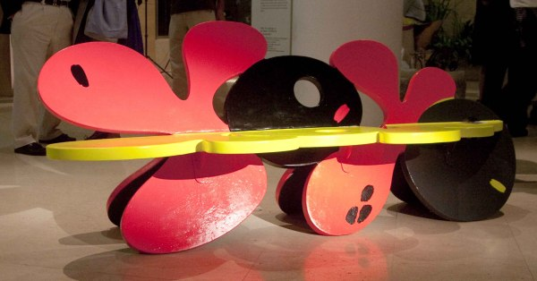 The Yo-Yo bench by Rodanthi Senduka